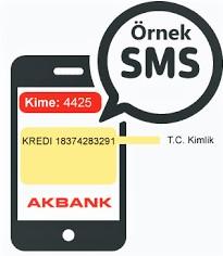 axess sms ile kredi kartı başvurusu